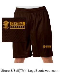 Central Lacrosse Shorts Design Zoom